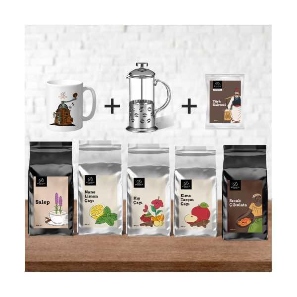 Atlantik Coffee Tanıtım Özel Kış Paketi