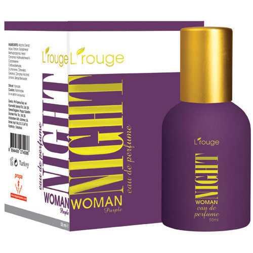L'ROUGE NİGHT WOMAN PURPLE PARFÜM 55 ML