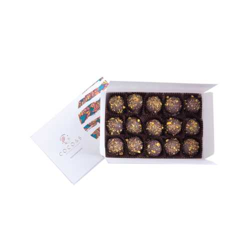 COCOAS CHOCOLAT Antep Güzeli Truffle Çikolata 225 Gr