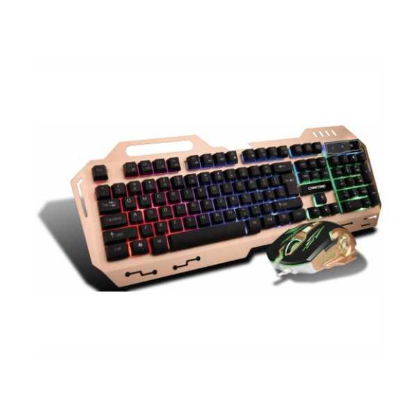 Concord C-58 Metal Kasa Oyuncu Klavye Mouse Seti