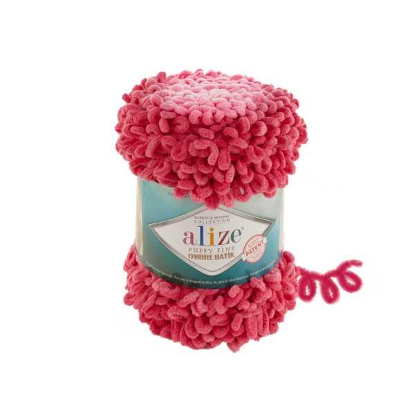 Alize Puffy Fine Ombre Batik No: 7279