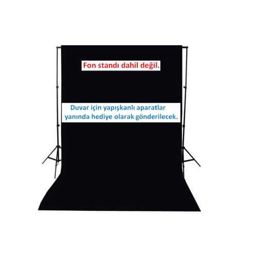 black screen-siyah fon perde-% 100 PAMUK
