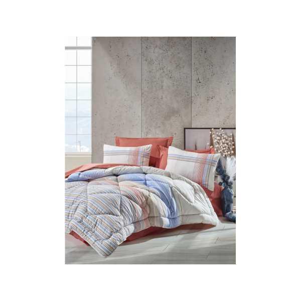 Cottonbox Çift Kişilik Uyku Seti Frey Mercan