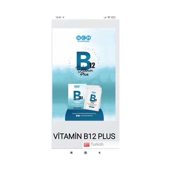 B12 VİTAMİN PLUS