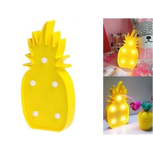 Ananas Tasarımlı Masa Lambası