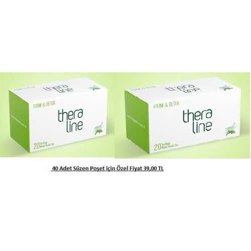Theraline Form Detox Bitki Çayı ( 2 kutu )