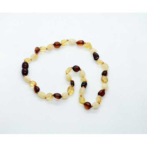 Kehribar Bebek Diş Kolyesi Damla Kehribar Natural natural Amber Şifalıtaş
