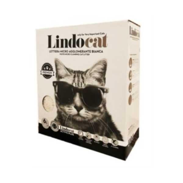 Lindo Cat 6 lt Active Carbon Kutu