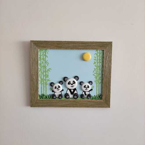 Panda ve Yavruları