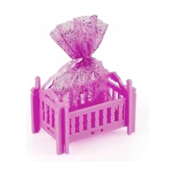 Bebek Mevlüt Beşik i 12 Adet Birden - Pembe Beşik