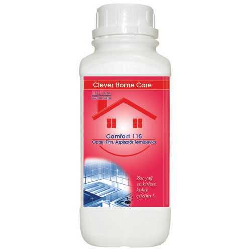 CLEVER HOME CARE COMFORT 115 OCAK FIRIN ASPİRATÖR TEMİZLEYİCİ 1 LT ( 500 ML HEDİYELİ )