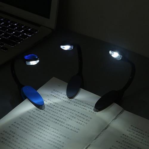 Kitap Okuma Işığı Led Booklight Kıskaçlı Pilli Model Led Işık