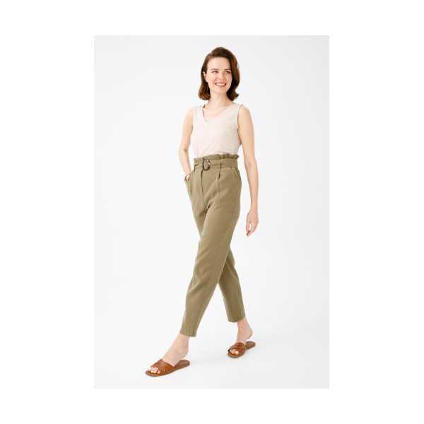 Class Giyim Ekol Yüksek Bel Havuç Pantolon
