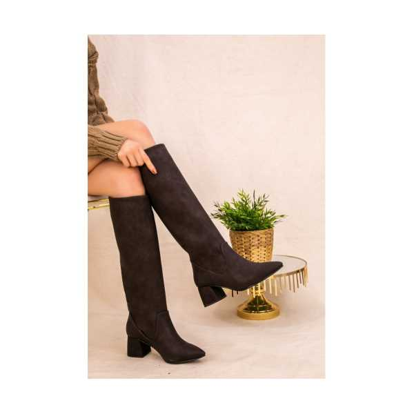 Rixtay Kahverengi Cilt Çizme
