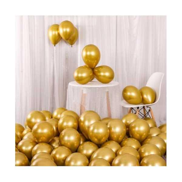 Krom Balon Seçmeli Renk 50 Adet
