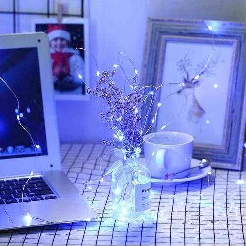 Peri Led Işık 5 metre BEYAZ  Dekor Lambası 50 Ledli