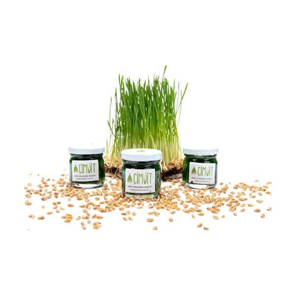 ÇİMVİT Buğday Çimi Suyu 7 Günlük Paket (7 Kavanoz)