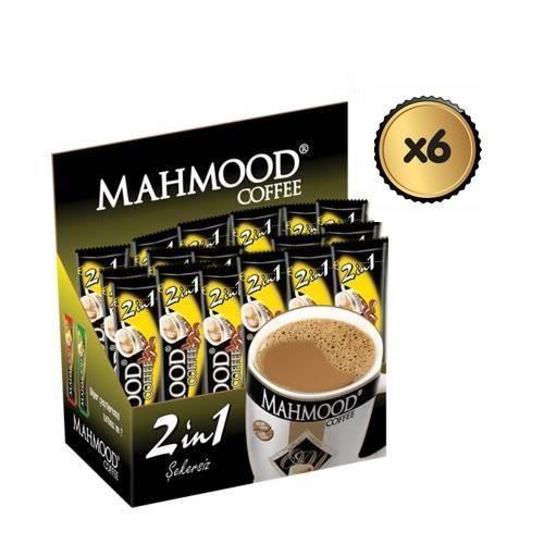 Mahmood Coffee 2si1 arada 10 gr 48 adet ( 6 ADET )  (midyatziv)