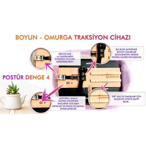 POSTUR DENGE 4 BOYUN TRAKSİYON CİHAZI