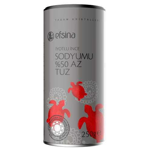 Efsina %50 Sodyumu Az Tuz 250 g