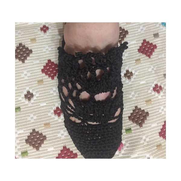 El örgüsü ayakkabı