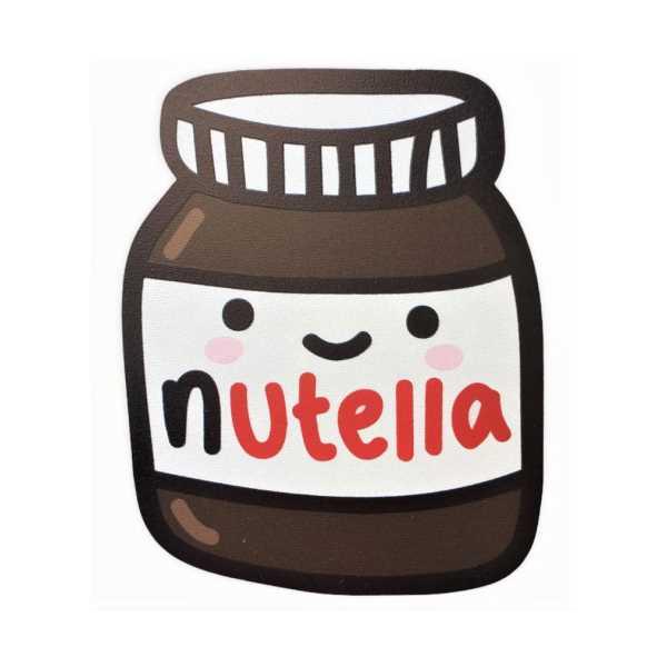 WoodyPack Nutella - Şekilli Kesim Ahşap Bardak Altlığı