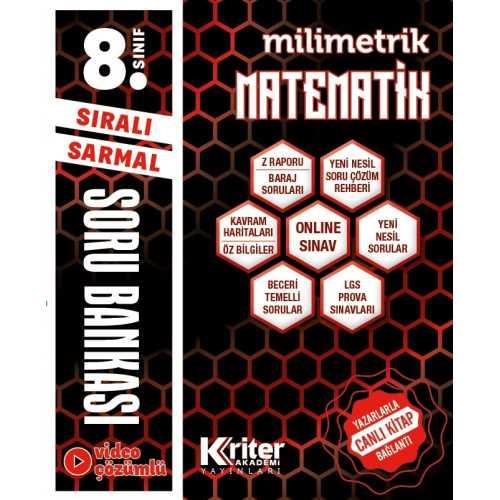 8.sınıf Kriter Yayınları Matematik Soru Bankası