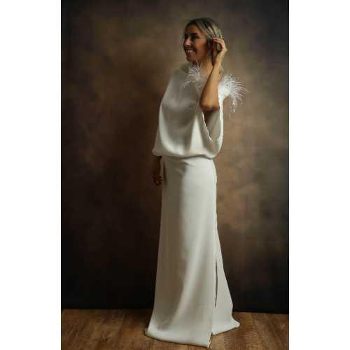 Valencia&Bilbao Koleksiyonu Plum Elbise