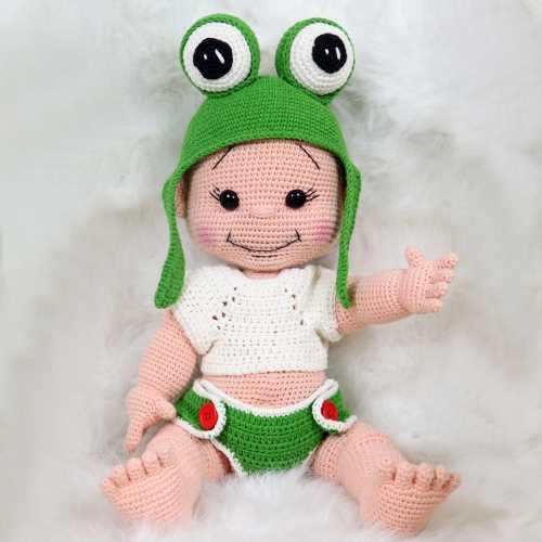 Amigurumi Örgü Bebek (Tonti)
