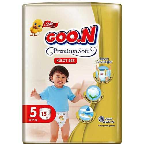 Goon Külot Bez Premium Soft 5 Beden 15 Adet