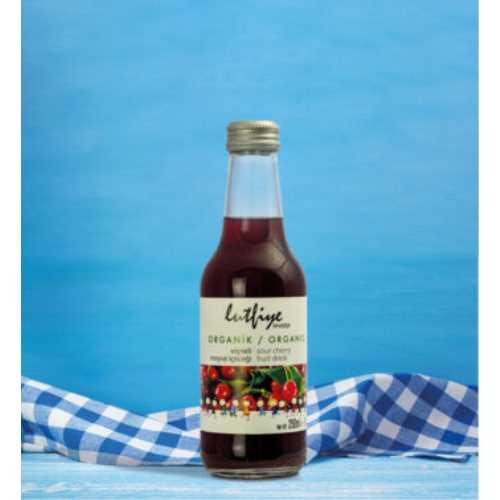 Lütfiye Organik Vişneli Meyve İçeceği 250 ml
