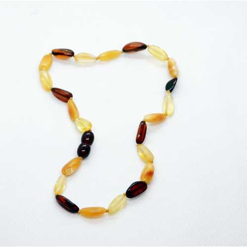 Kehribar Bebek Diş Kolyesi Damla Gümüş Akçe Kehribar Natural Amber Şifalı taş