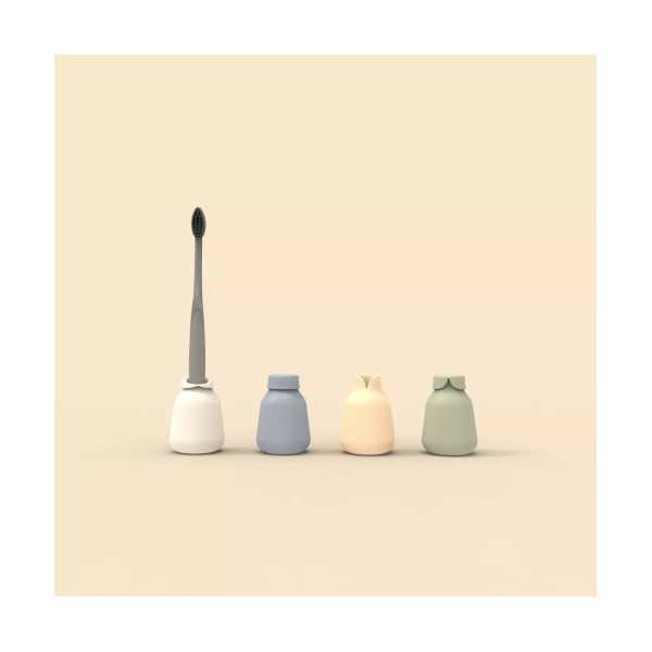 Diş Fırçalık Seti 4'lü Özel Tasarım