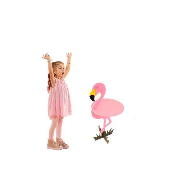 flamingo sehpa