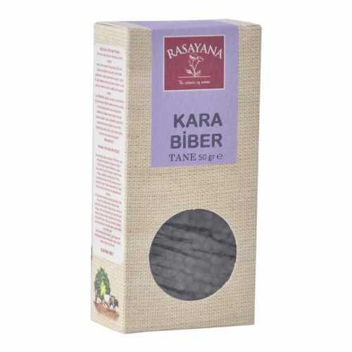 Rasayana Karabiber (Tane, Doğal) 50 Gr.