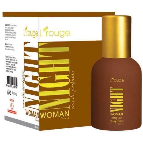 l'rouge Night Woman Sweet Parfüm 55 ml